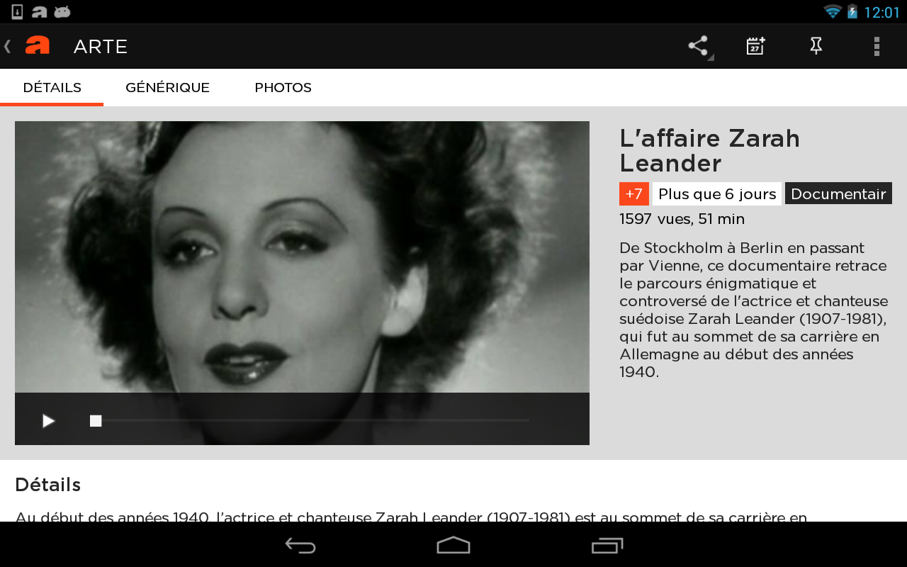 application android musique gratuite streaming