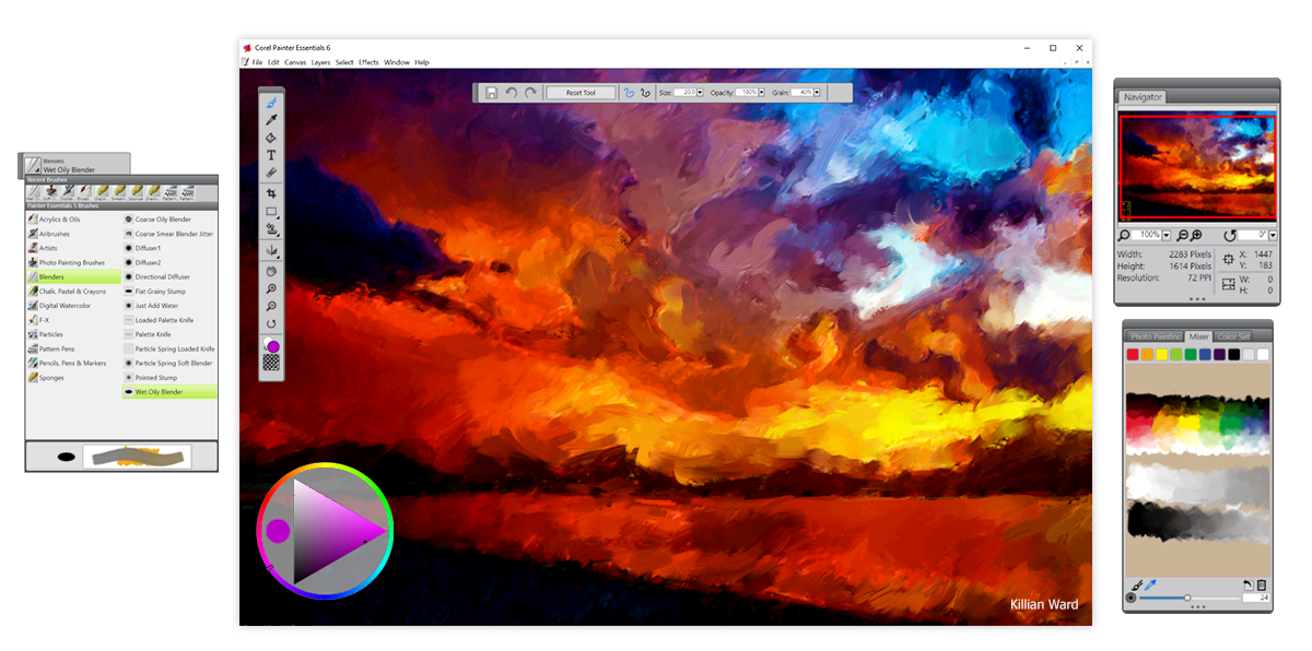 sketchpad online paint drawing application