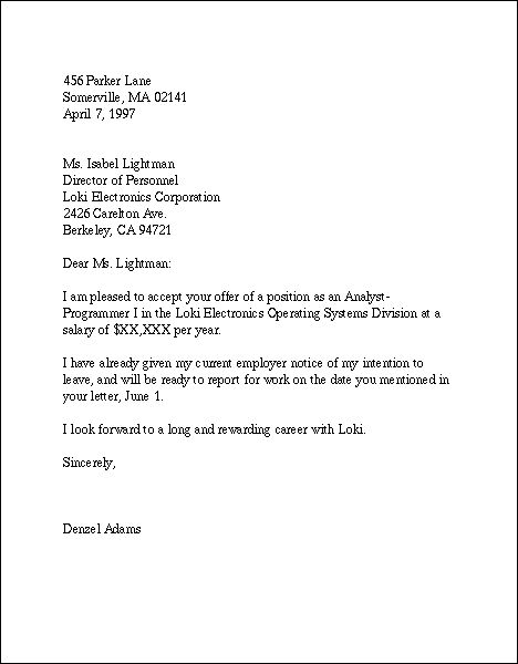 application letter for the post of a cook