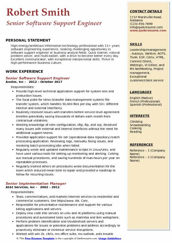 senior application support analyst salary