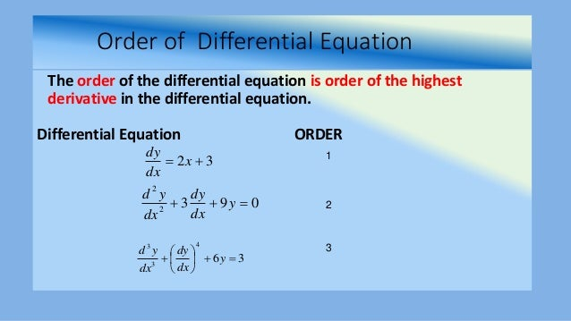 differential equation application problems with solutions