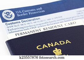 permanent resident application form outside canada