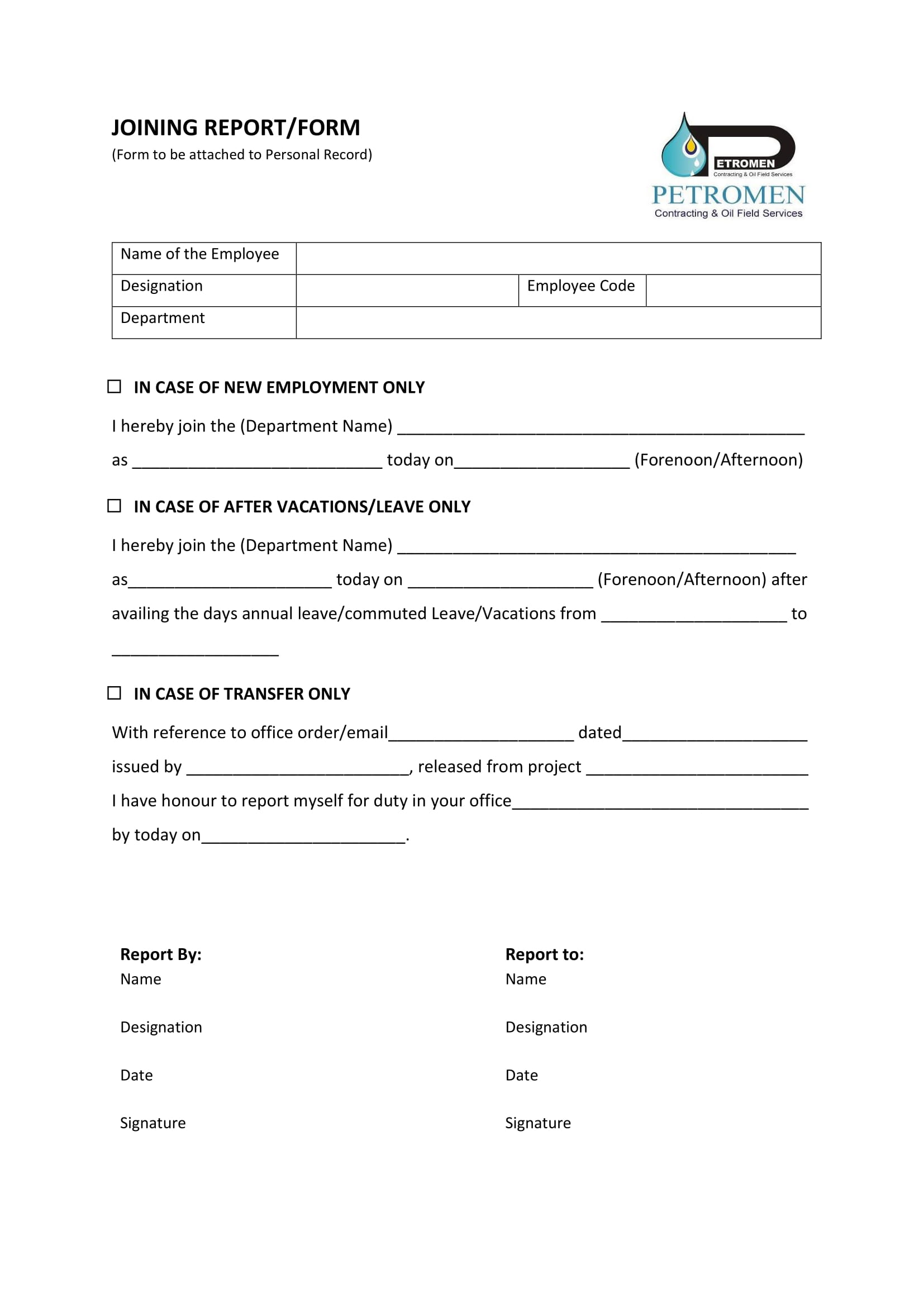 why are application forms used