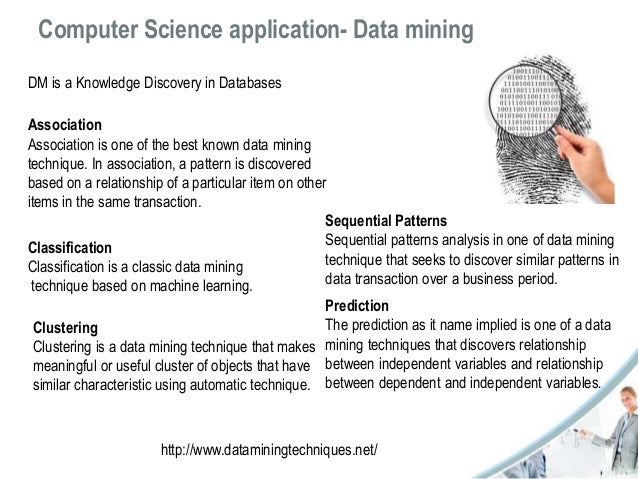 application of artificial intelligence in data mining