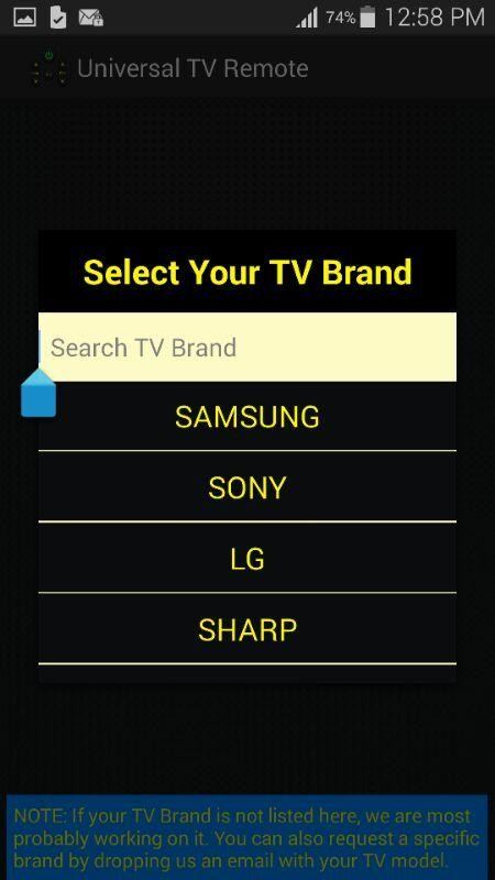 android tv remote control application