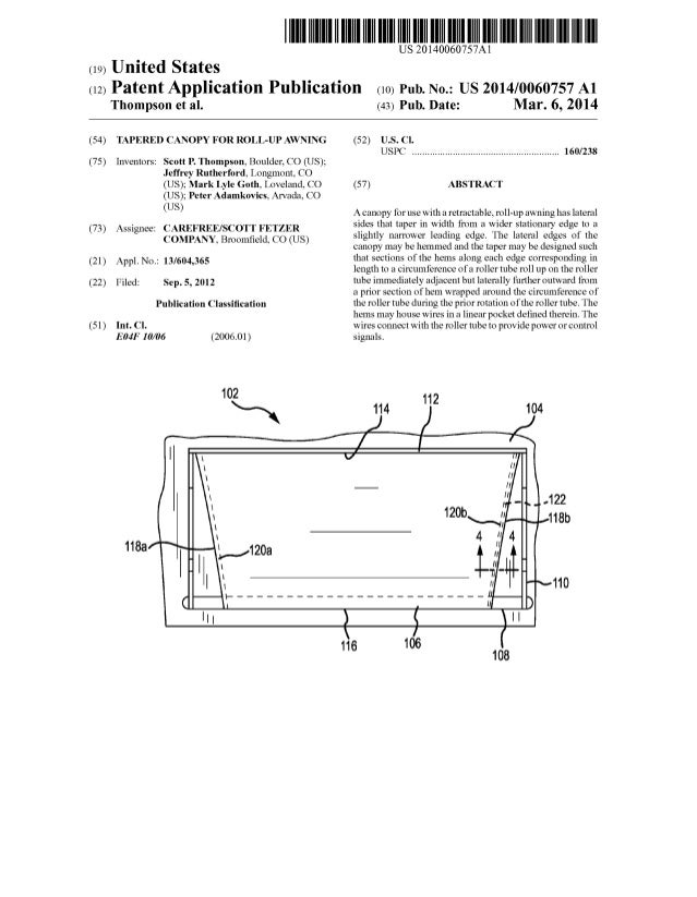 united states patent application publication
