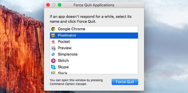 how to close all applications on mac
