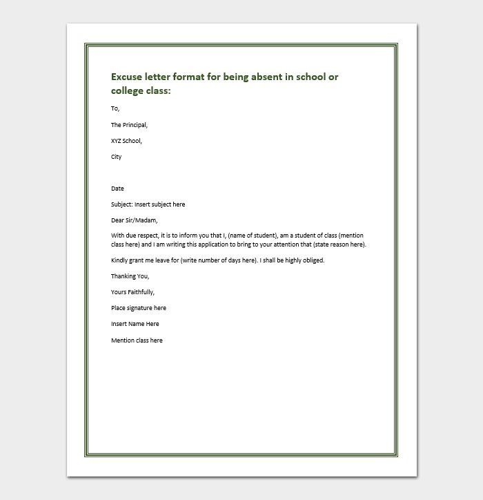 leave of absence college application