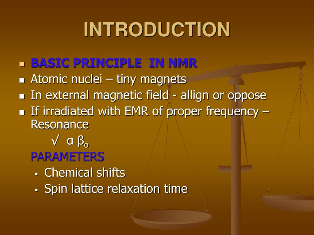 nuclear magnetic resonance spectroscopy applications