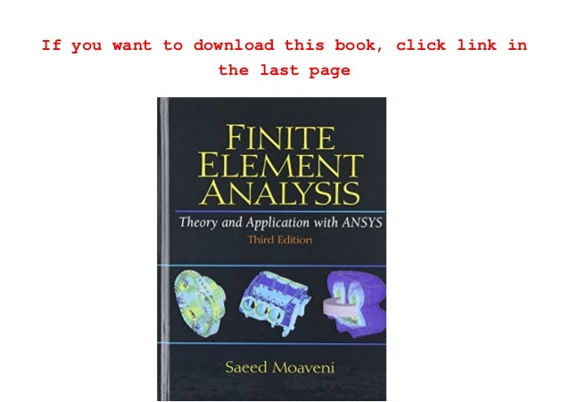 application of finite element analysis