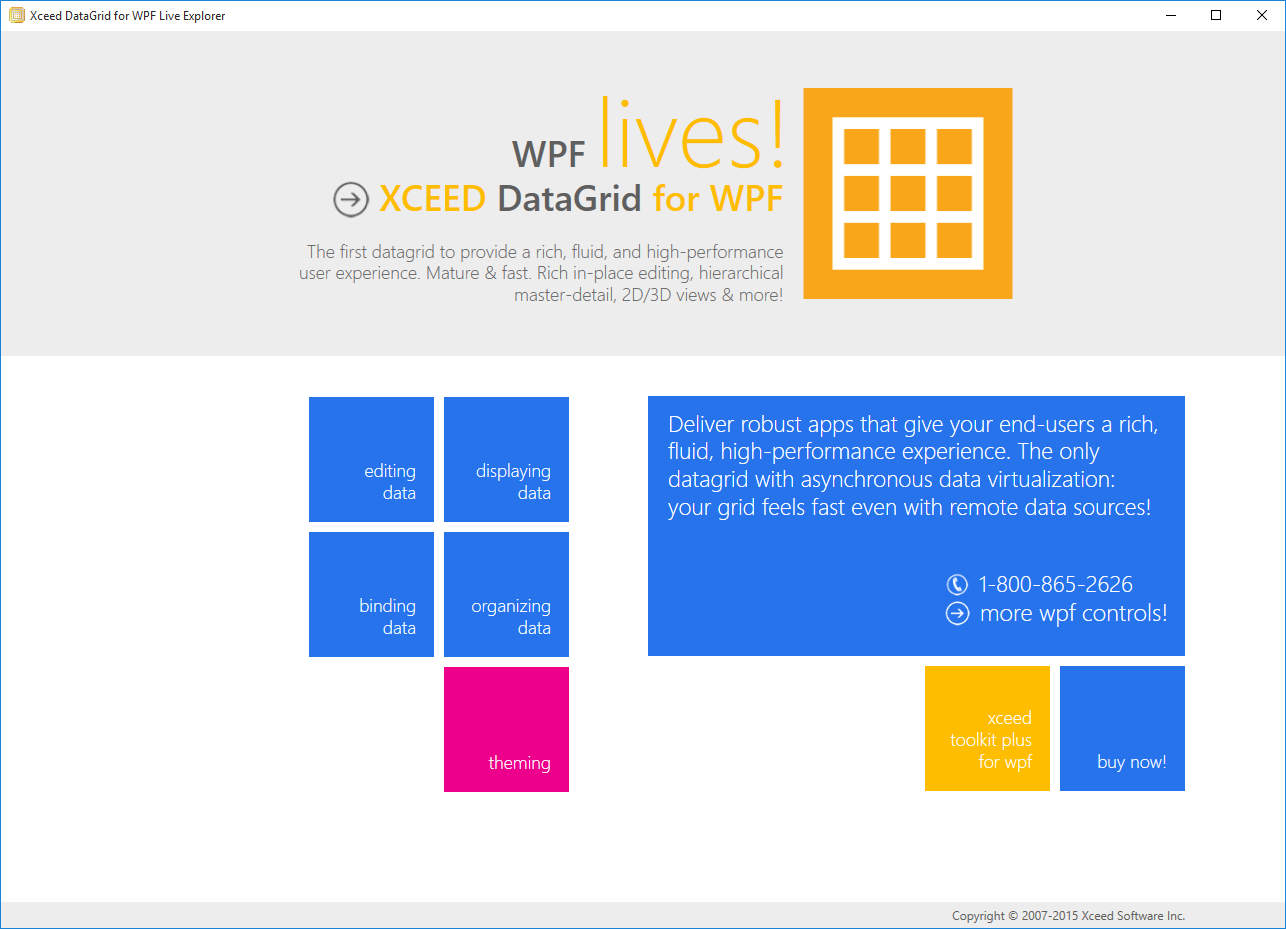wpf sample application examples in c#