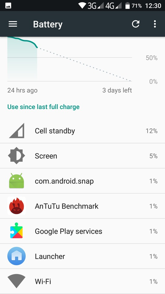where is application manager on s8